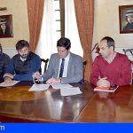 El Alcalde de Santiago del Teide firma los contratos de seis grandes obras por valor de casi 8 millones de euros