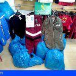 Intervienen 13.000 € de ropa falsificada en Icod de los Vinos