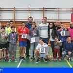 La Gomera | Una decena de jóvenes participan en el Campeonato Insular de Tenis de Mesa