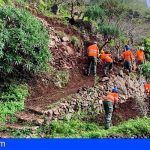 La Gomera | El Cabildo inicia una veintena de actuaciones para recuperar los bancales de la Isla