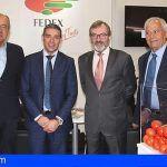 Gobierno de Canarias y FEDEX analizan los efectos del Brexit en el sector del tomate y pepino canario