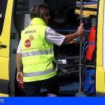 2 accidentes de motos en Granadilla dejan 2 heridos de carácter moderado