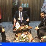 Ashotel mantiene en la ITB un encuentro con el ministro turco de Turismo para intercambiar opiniones sobre el sector
