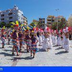 El Médano vibró con el Carnaval de Cuba