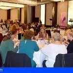 Cerca de 400 mujeres de Santiago del Teide y Guía de Isora asistieron a la Cena de Gala con motivo del Día Internacional de la Mujer