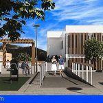 Así será el nuevo centro cultural de Buzanada, con parque infantil y una plaza anexa totalmente reformada