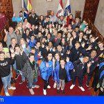 Granadilla agasaja a 40 estudiantes del Erasmus provenientes de Eslovenia, Polonia, Italia y Holanda
