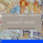 Santiago del Teide | Liliana Carmen Amenta y Elisabeth Denise exponen en el Museo del Pescador