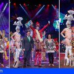 Drag Hocklin, se alza con el título Drag Queen del Carnaval Internacional de Los Cristianos