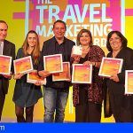 La marca Islas Canarias, premiada en las diez categorías en The Travel Marketing Awards de Londres