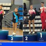 Éxito del patinaje artístico de San Miguel de Abona en el Campeonato Provincial
