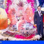 Rebeca González Cabrera se proclama Reina del Carnaval Internacional de Los Cristianos