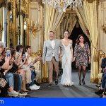 Tres firmas de Tenerife Moda presentan sus colecciones de alta costura en la feria Atelier Couture