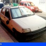 Vecinos de El Fraile en Arona, denuncian coches abandonados desde hace meses