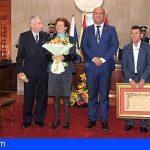 Granadilla reconoce la labor de Álvaro Foronda y Manuel Díaz Marcelino