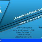 Arona impulsa el canto coral con un primer Concierto Presentación
