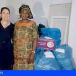 Dos asociaciones unen sinergias en Arona para una campaña de recogida de material que irá destinada a África
