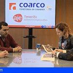 Coarco y la Asociación de Jóvenes Empresarios de Tenerife refuerzan su colaboración