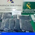 Una mujer portaba más de 6.5 Kg de cocaína en la maleta en el Aeropuerto Norte de Tenerife
