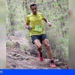 Cristofer Clemente saca conclusiones positivas de su participación en el V Trail Fuentealta Vilaflor