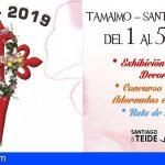 """Santiago del Teide presenta la III edición del proyecto """"Crux-2019"""" para exaltar la primavera"""