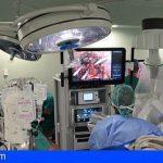 Realizan en Canarias las ocho primeras intervenciones con el robot Da Vinci