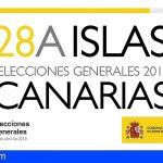 Más de millón y medio de electores están llamados a las urnas en Canarias con motivo de las Elecciones Generales