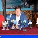 Santiago del Teide informa el avance de las obras del emisario submarino que mantiene cerradas varias playas