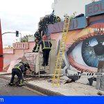 Fallece un hombre en La Orotava tras ser atrapado contra un muro por su camión