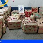 """Incautadas dos toneladas de hachís en una """"guardería"""" de Huelva"""
