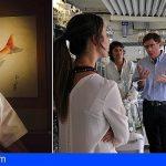 Canarias | Hirotoshi Ogawa, embajador gastronómico de Japón, visita el banco español de algas