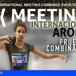 Arona prepara el IX Meeting Internacional Arona de Pruebas Combinadas de Atletismo
