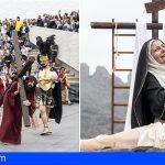 La representación de La Pasión en Adeje se afianza como referente de la Semana Santa en Canarias