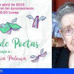 Santiago del Teide organiza un reconocimiento a la célebre poeta arguayera María Paloma