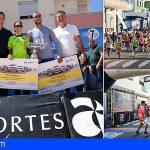 Aroa Merino y Youness Ait Hadi ganadores de la Media Maratón de Las Galletas 2019