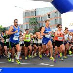 Se cerrará al tráfico el circuito del Medio Maratón de Las Galletas el próximo domingo