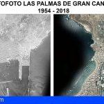 El visor web de Grafcan ofrecerá ortofotos históricas de Canarias de los años cincuenta