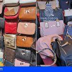 39 detenidos en Arona por vender productos falsificados
