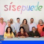 Mayca Coello presenta la candidatura de Sí se puede por Candelaria