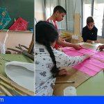Ansina celebra un taller intergeneracional para que los niños aprendan a hacer cometas tradicionales