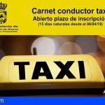 San Miguel de Abona organiza un curso para la obtención del carnet de taxi