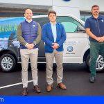 Los vehículos de Volkswagen Comerciales Canarias ya lucen la imagen de la Fred. Olsen Tenerife Bluetrail 2019