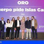 """La campaña """"Tu cuerpo necesita Islas Canarias"""" premiada por recibir 22 millones de visualizaciones en Facebook"""