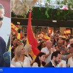 El Fenómeno VOX con su Secretario General desbordó el salón del Tao Club Las Palmas