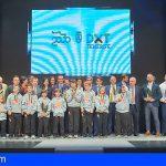 Hernández, Risco y Tenerife Marlins Puerto Cruz, elegidos mejores deportistas de 2018 por la APDT
