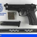 Detenido en Lanzarote por amenazar a un hombre disparando una pistola detonadora