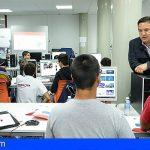 Arona da formación en electrónica y robótica a sus jóvenes de la smart city que se avecina