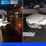 Un accidente de tráfico en Adeje colapsa la autopista