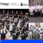 Medio centenar de músicos de bandas tinerfeñas ofrecerán un gran concierto por el Día de Canarias