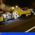 Tenerife instala bandas sonoras en la TF-2 para incrementar la seguridad vial